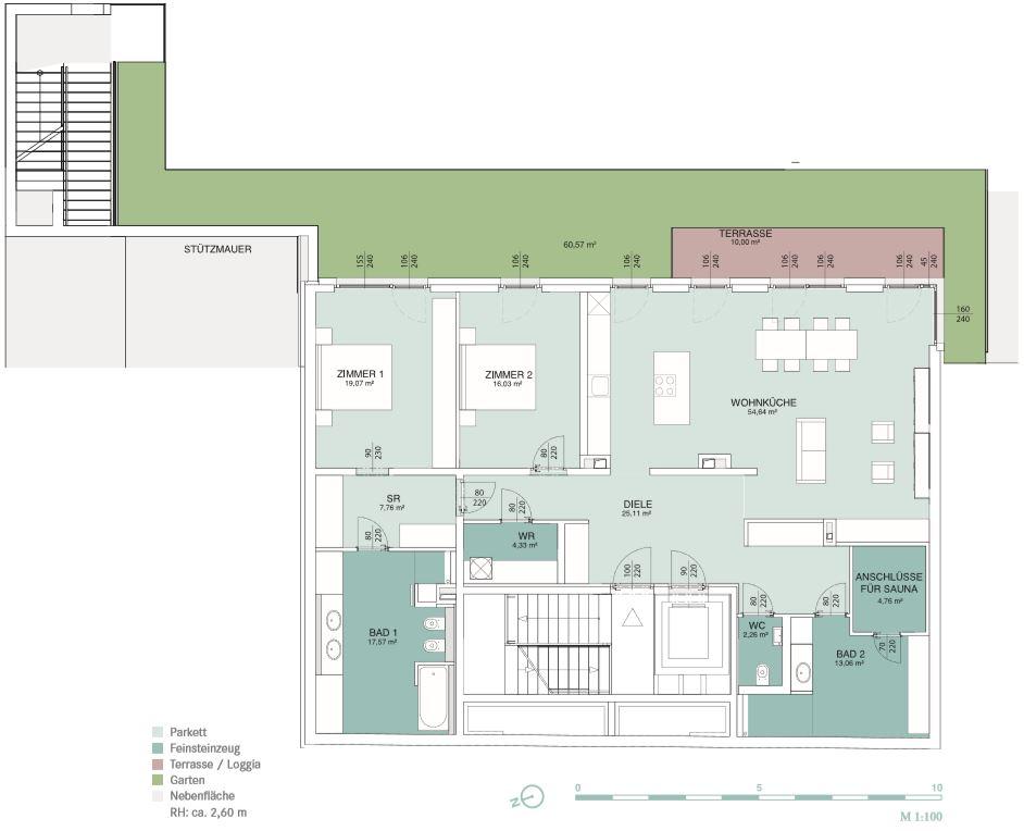 AERIA 1 Wohnungsplan