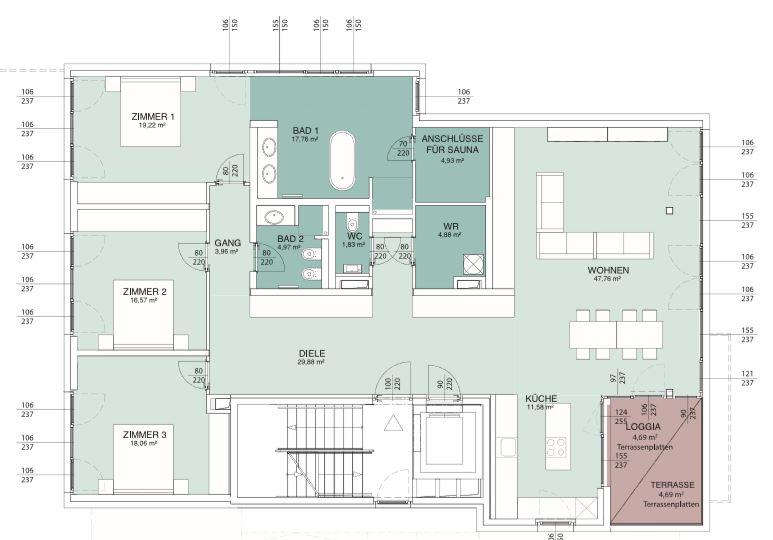 AERIA 3 Wohnungsplan