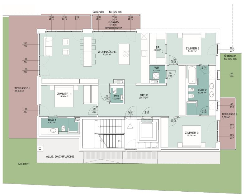 AERIA 2 Wohnungsplan