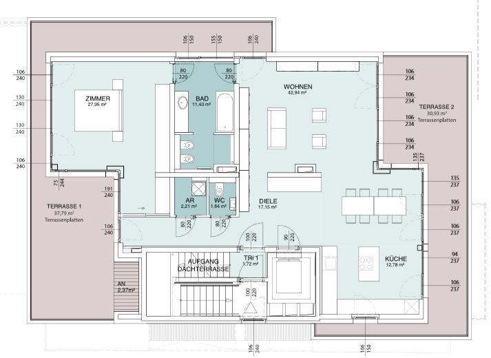 AERIA 4 Wohnungsplan
